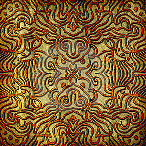Abstract Symmetrical Pattern Illustration Stock Photos - Image: 15623883
