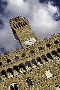 Tower At Piazza Della Signoria, Florence Stock Photo - Image: 15624460