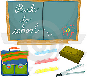 School Set 02 Royalty Free Stock Photography - Image: 15624507