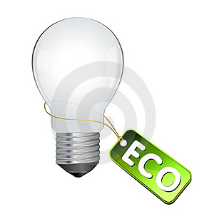 Eco Light Bulb Royalty Free Stock Photography - Image: 15629797