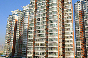 Residential Buildings Royalty Free Stock Photography - Image: 15630797