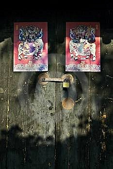 Old Door Royalty Free Stock Images - Image: 15644599