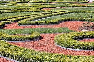被装饰的庭院 免版税库存图片 - 图片: 15648096