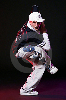 Hip Hop Dancer In Dance Royalty Free Stock Photo - Image: 15649185