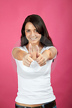 Smiling Successful Woman Royalty Free Stock Image - Image: 15649226