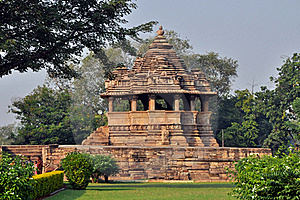 Temple In Khajuraho Stock Images - Image: 15650404
