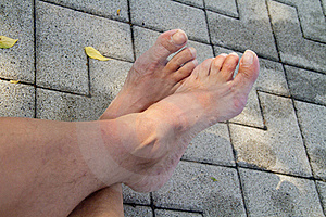 Feet Stock Images - Image: 15651064