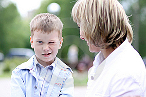 Mother And Little Boy Stock Photos - Image: 15651993