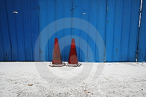 Traffic Cone Stock Photography - Image: 15652582