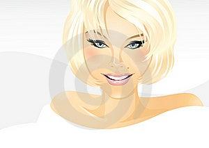 Glimlachend Meisje Royalty-vrije Stock Foto's - Afbeelding: 15653778