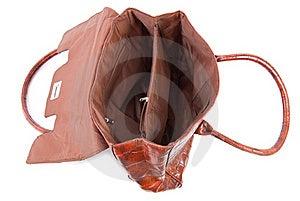 Opened Female Bag | Isolated Royalty Free Stock Photo - Image: 15656225