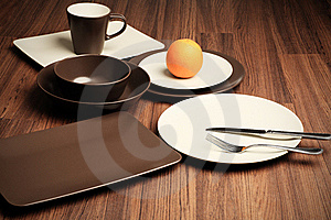Different Plates Royalty Free Stock Image - Image: 15656266