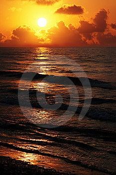 Mediterranean Sunset Royalty Free Stock Image - Image: 15657476