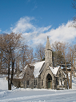 Church And Winter Day Stock Photo - Image: 15659400