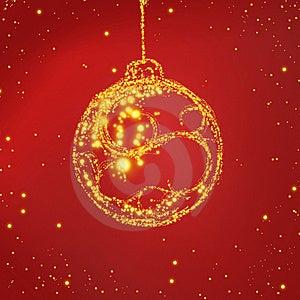 Christmas Bulb Royalty Free Stock Photography - Image: 15659777