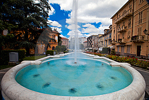 Big Fountain Royalty Free Stock Image - Image: 15660306
