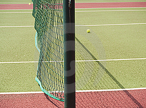 Close-up Of Tennis Net And Court Royalty Free Stock Photo - Image: 15660425