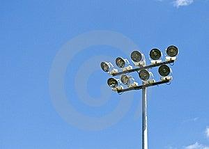 Stadium Lighting Royalty Free Stock Images - Image: 15661659