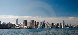 New York Skyline Stock Photography - Image: 15661842