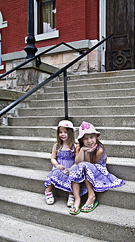On The Steps Stock Images - Image: 15662454