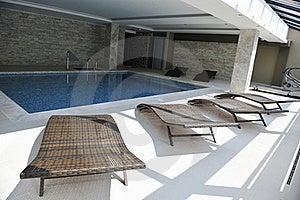 Indoor Swimming  Pool Stock Image - Image: 15662811