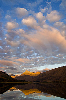 Evening On Loch Etive Royalty Free Stock Images - Image: 15665249