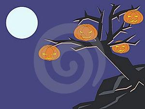 Dark Tree Royalty Free Stock Photo - Image: 15666575