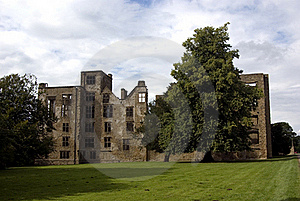 Old Hardwick Hall Royalty Free Stock Image - Image: 15666876