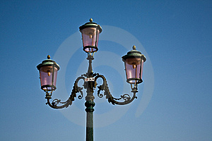 Street Lamp, Venice Royalty Free Stock Photo - Image: 15669855