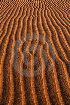 Sand Ripples Royalty Free Stock Image - Image: 15670746