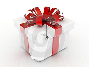 Red Gift Royalty Free Stock Photography - Image: 15672447