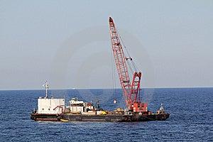 Floating Crane Royalty Free Stock Photos - Image: 15676048