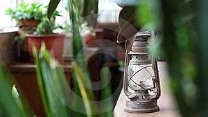 Kerosene Lamp Stock Photo - Image: 15676620
