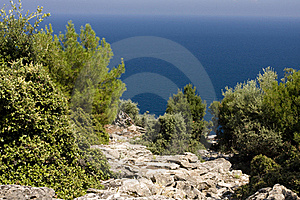 Aegean Sea Landscape Royalty Free Stock Photography - Image: 15676767