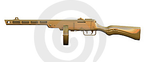 PPSh-41 Submachine Gun Stock Photos - Image: 15677213