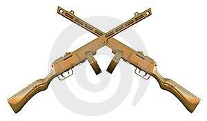 PPSh-41 Submachine Gun Stock Photos - Image: 15677223