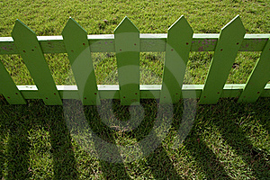 Wood Fence In Farm Stock Image - Image: 15677421