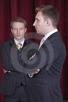 Two Actors Royalty Free Stock Photos - Image: 15679848