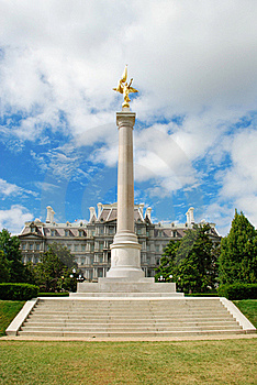 First Division Monument, Washington D.C. Royalty Free Stock Photos - Image: 15680108