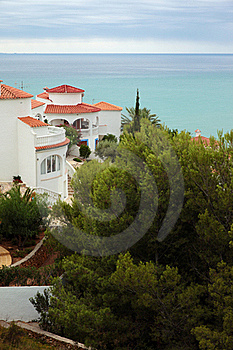 Mediterranean Houses Royalty Free Stock Image - Image: 15680676