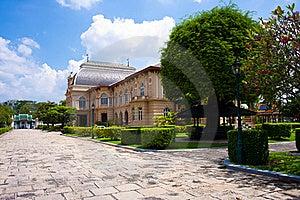 Borom Phiman Mansion, Wat Phra Kaew Royalty Free Stock Photos - Image: 15680728