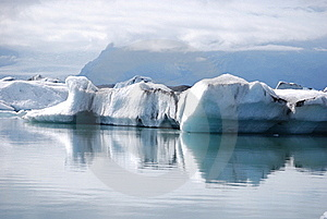 Glacial Lagoon Stock Images - Image: 15681374