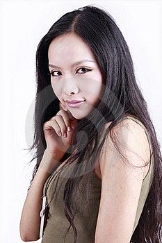 Pretty Asian Woman Stock Photos - Image: 15685103