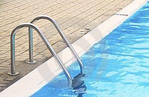 Pool Ladder Stock Photo - Image: 15685290