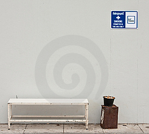 Smoking Area Stock Photo - Image: 15689010