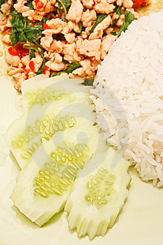 Thai Style Spicy Food Royalty Free Stock Photos - Image: 15689048