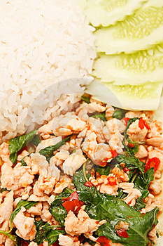 Thai Style Spicy Food Royalty Free Stock Image - Image: 15689056