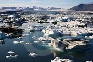 Iceland Glacier Stock Image - Image: 15689191