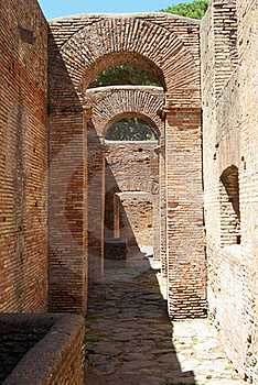 Ancient Roman Arches Royalty Free Stock Photography - Image: 15691177