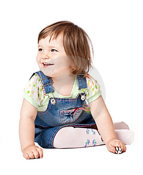 Little Smiling Girl Stock Images - Image: 15691354